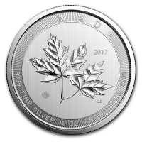 Kanada - 50 CAD Magnificent Maple Leaves 2017 - 10 Oz Silber