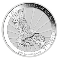 Australien - 1 AUD Wedge Tailed Eagle 2019 - 1 Oz Silber